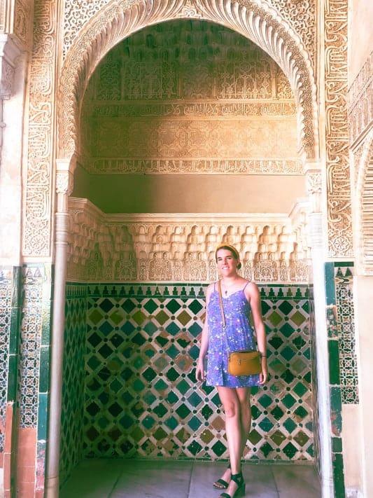 English teacher Nina in Spain