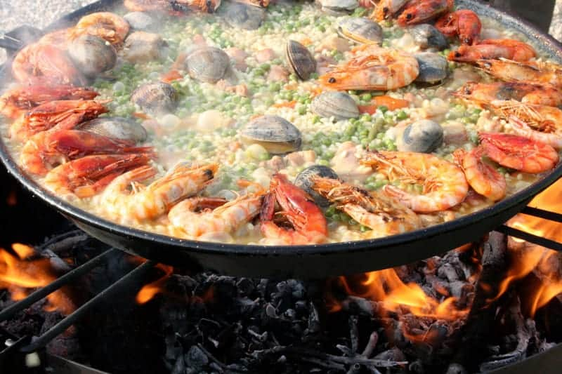 Paella Dish in Spain