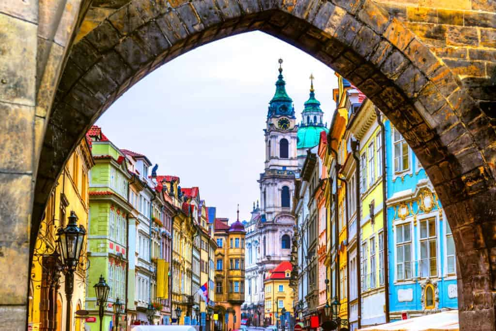 Prague City which is popular for digital nomads and freelancers