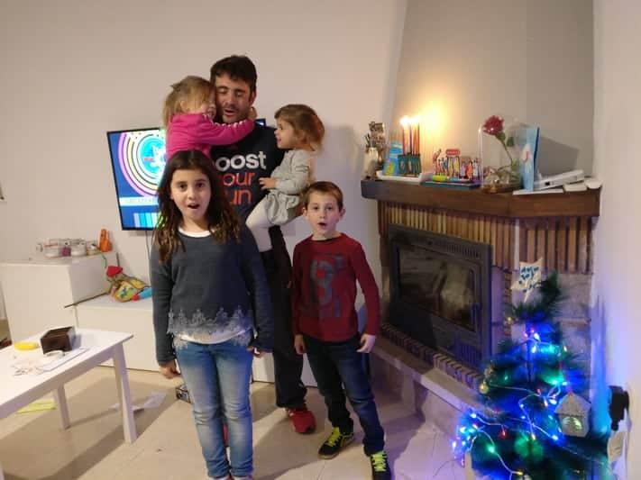 Michal expat celebrating Hanukkah