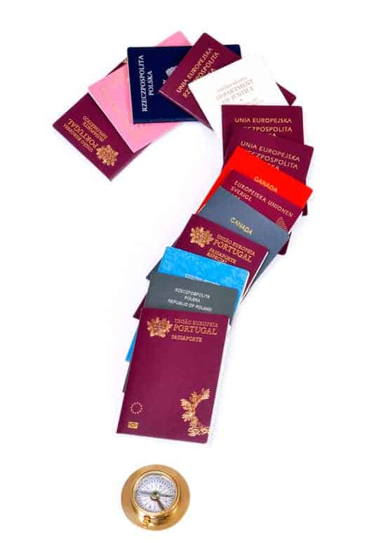 What are the easiest way to get a powerful Passport