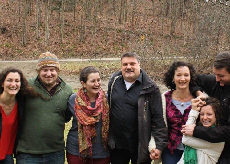 Expat Rhonda and her family in New York