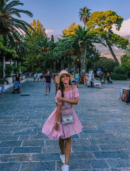 Expat Ekaterina in the summer