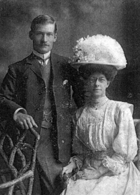 Ancestry DNA picture of my grandparents