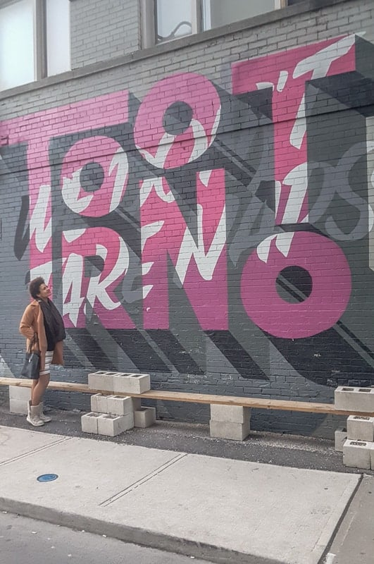 Expat Life in Toronto with Street Art