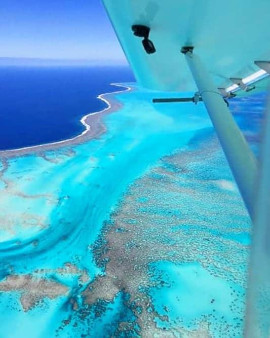 Plane over New Caledonia expat Life
