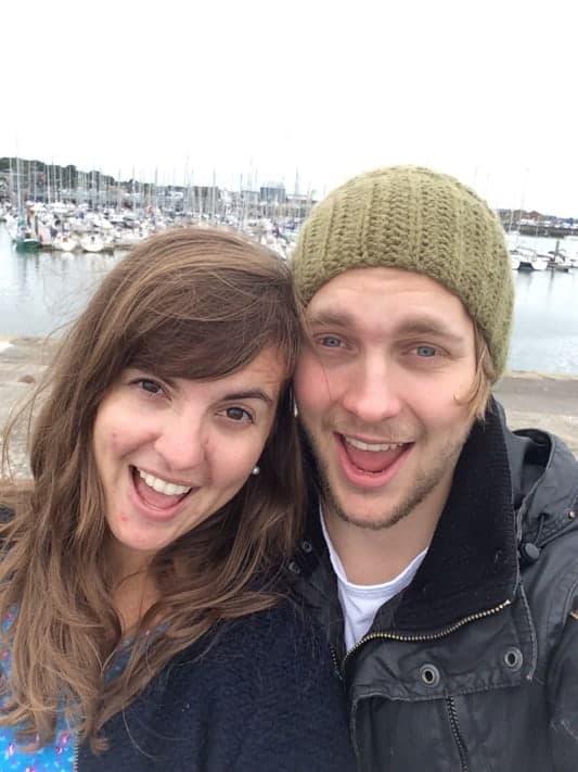 Nicole and her boyfriend