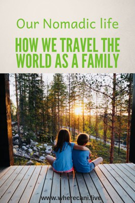 how we travel as a family