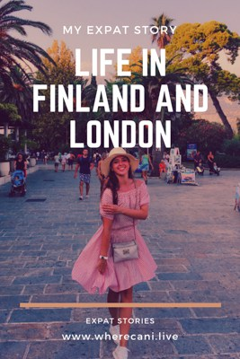 Life in Finland and London as an Expat
