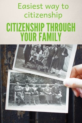 easiest way to citizenship through your family pin