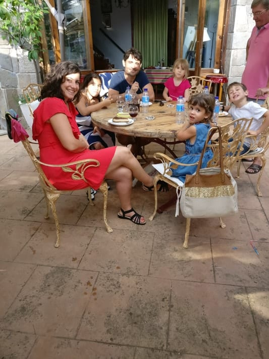 Expat Michal living in Spain with her family