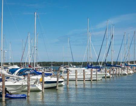 Yachts on the Aland Islands