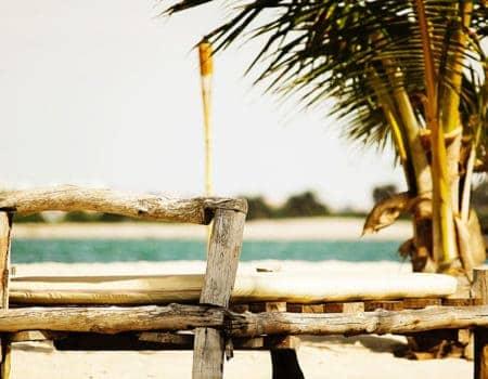 Beach scene in Angola