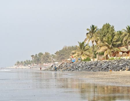 Beach in the Gambia