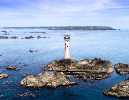 Lighthouse in Guernsey