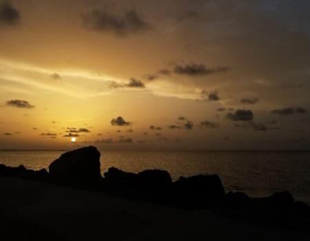 Sunrise in Guyana