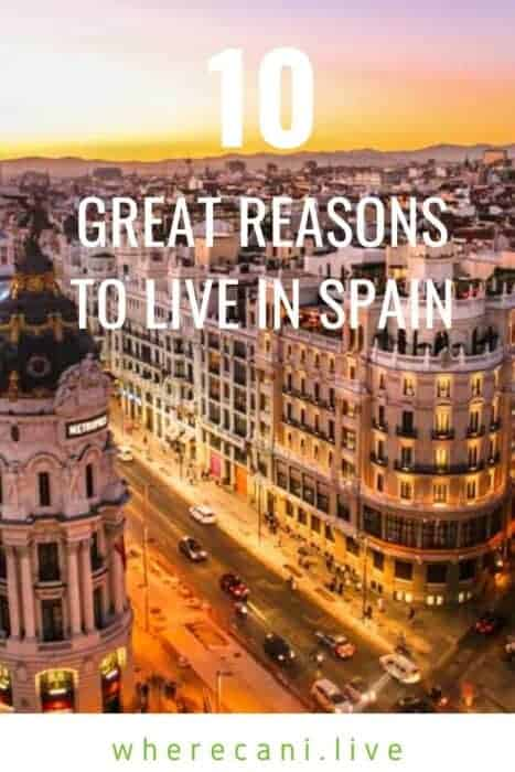 Madrid city, a great reason to live in Spain
