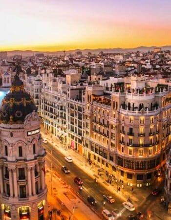 A view of Madrid, a good reason to move to Spain