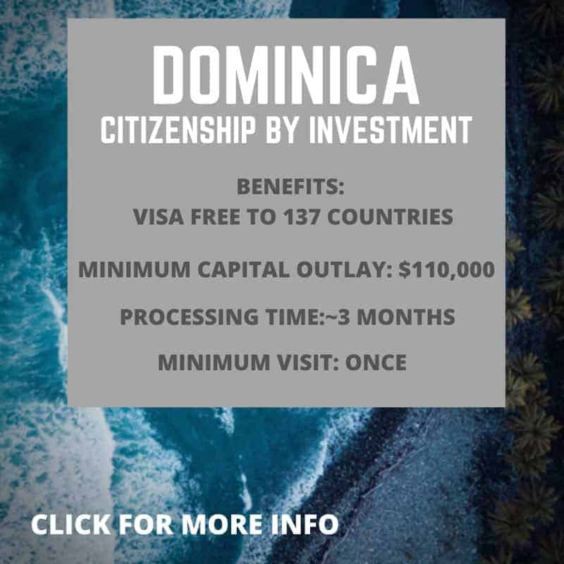 Dominica citizenship by investment