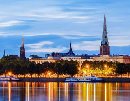Riga, Latvia skyline
