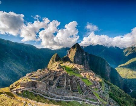 Macchu Pichu in Peru