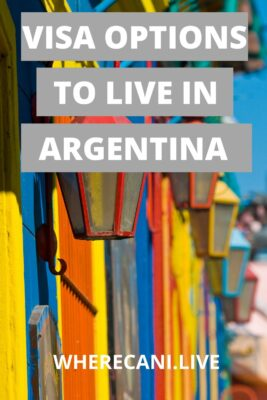 Visa Options to live in Argentina