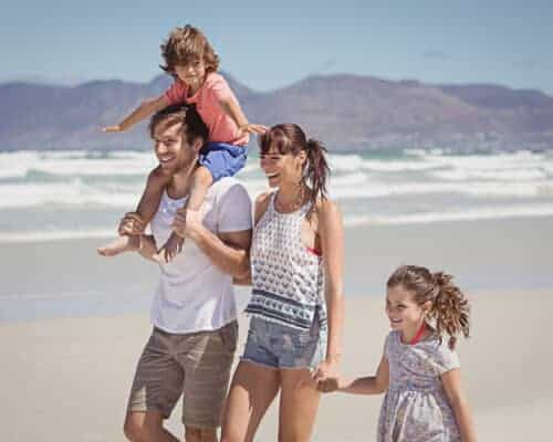 Exapt Family with Health Insurance