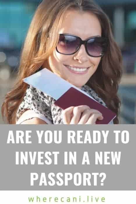 Are you ready to invest in a new passport?