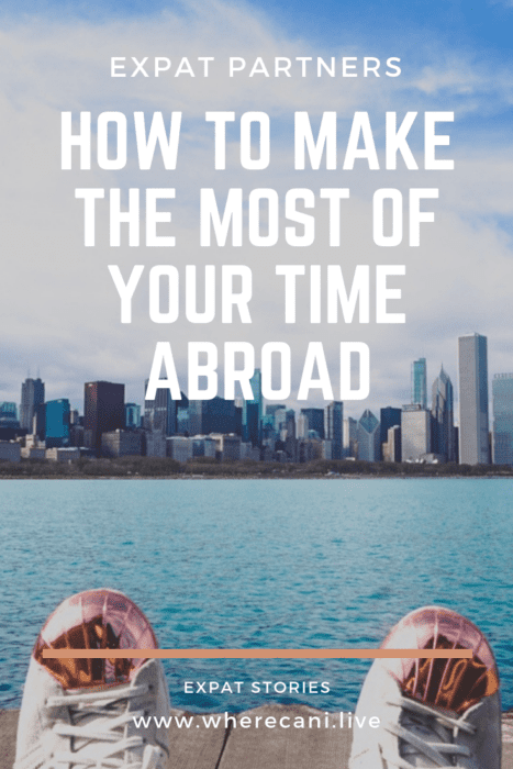 How to make the most of your time abroad pinterest pin