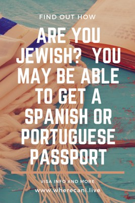 Are you Jewish?  You may be able to get a spanish or portuguese passport.  Pinterest Pin