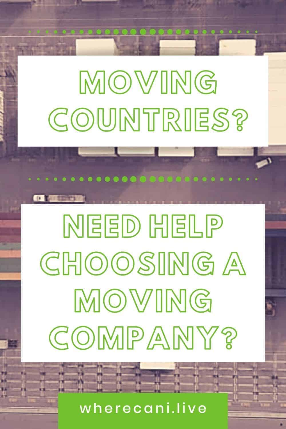 About to embark on an international move?  We can make the whole process easy with these tips. via @wherecanilive