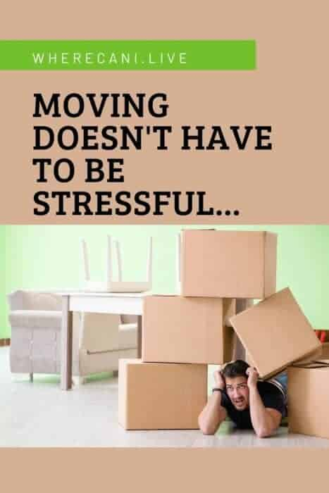 Moving doesn't have to be stressful