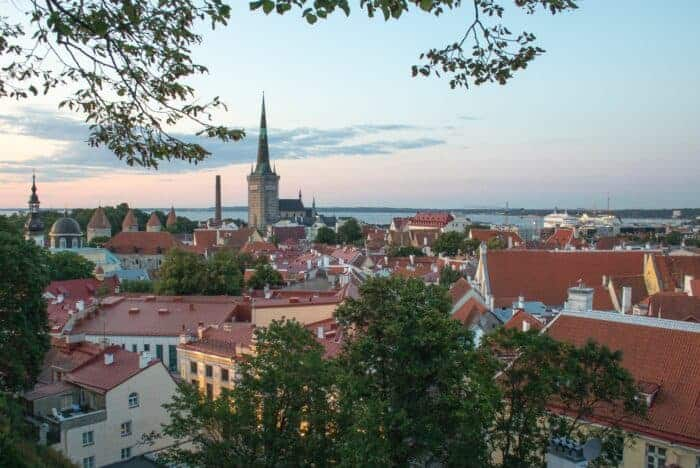 Estonia's capital Talin has benefited from pro-business policies to attract companies.