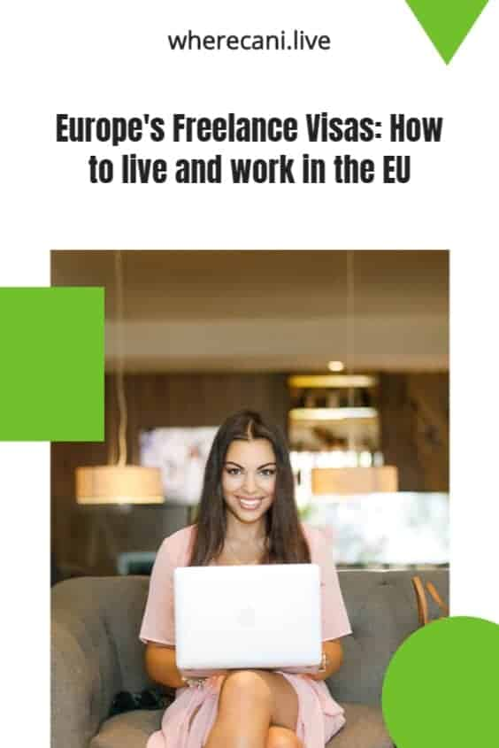 Find out how you can live and work in Europe on one of the many freelancer visas. #freelancer #digitalnomad #europe #visas via @wherecanilive