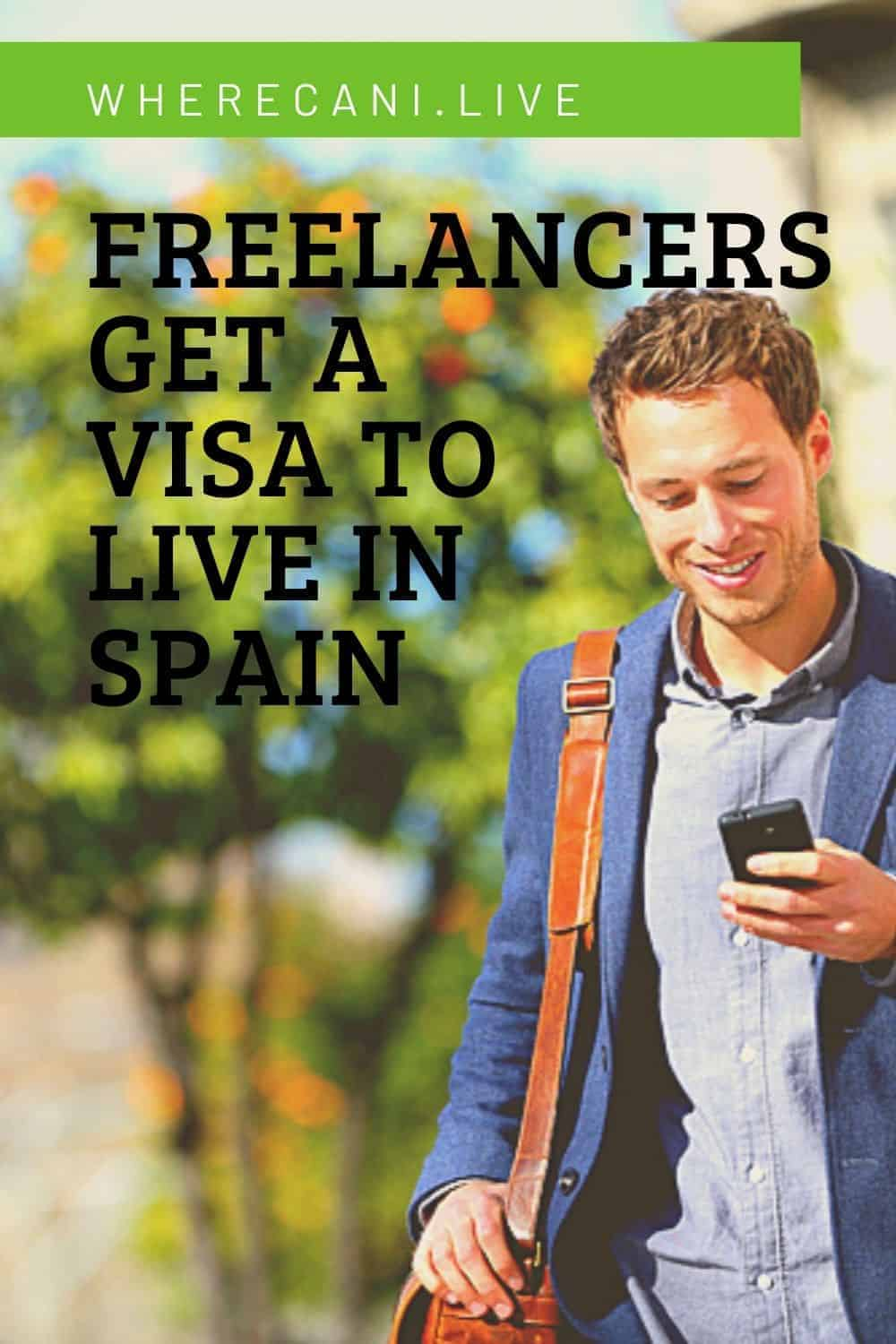 Are you a freelancer or digital nomad?  Come and live in Spain on the non lucrative visa.  #freelancer #digitalnomad #spain #visa #liveabroad #expat via @wherecanilive