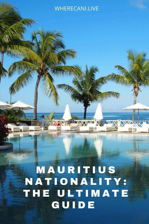 Your guide to Mauritius citizenship and passports.  Live in Paradise. #mauritius #paradise #citizenship #passport #expat via @wherecanilive