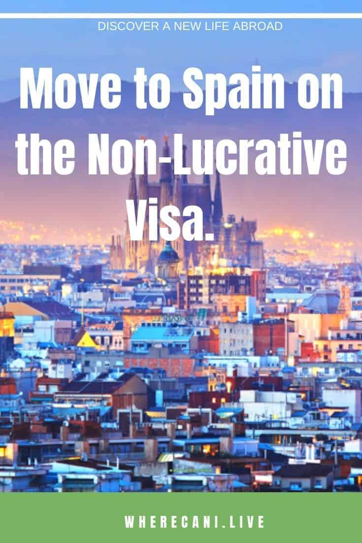 Do you want to live in Spain?  The non lucrative visa is the most popular option.  Let us take you through the details