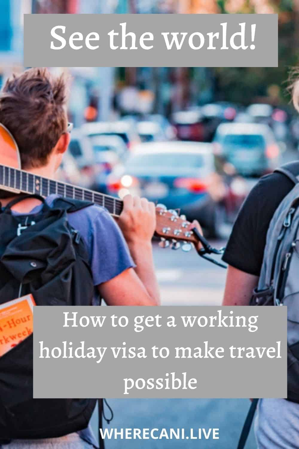 See the world through the working holiday visa program. We will show you how. #workingholiday #visa #expat #expatlife #travel #travelandwork via @wherecanilive