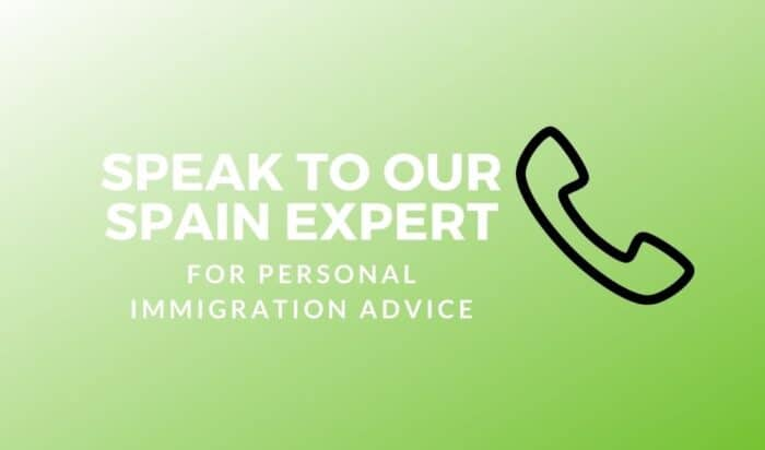 Speak to our Spain Expert Banner