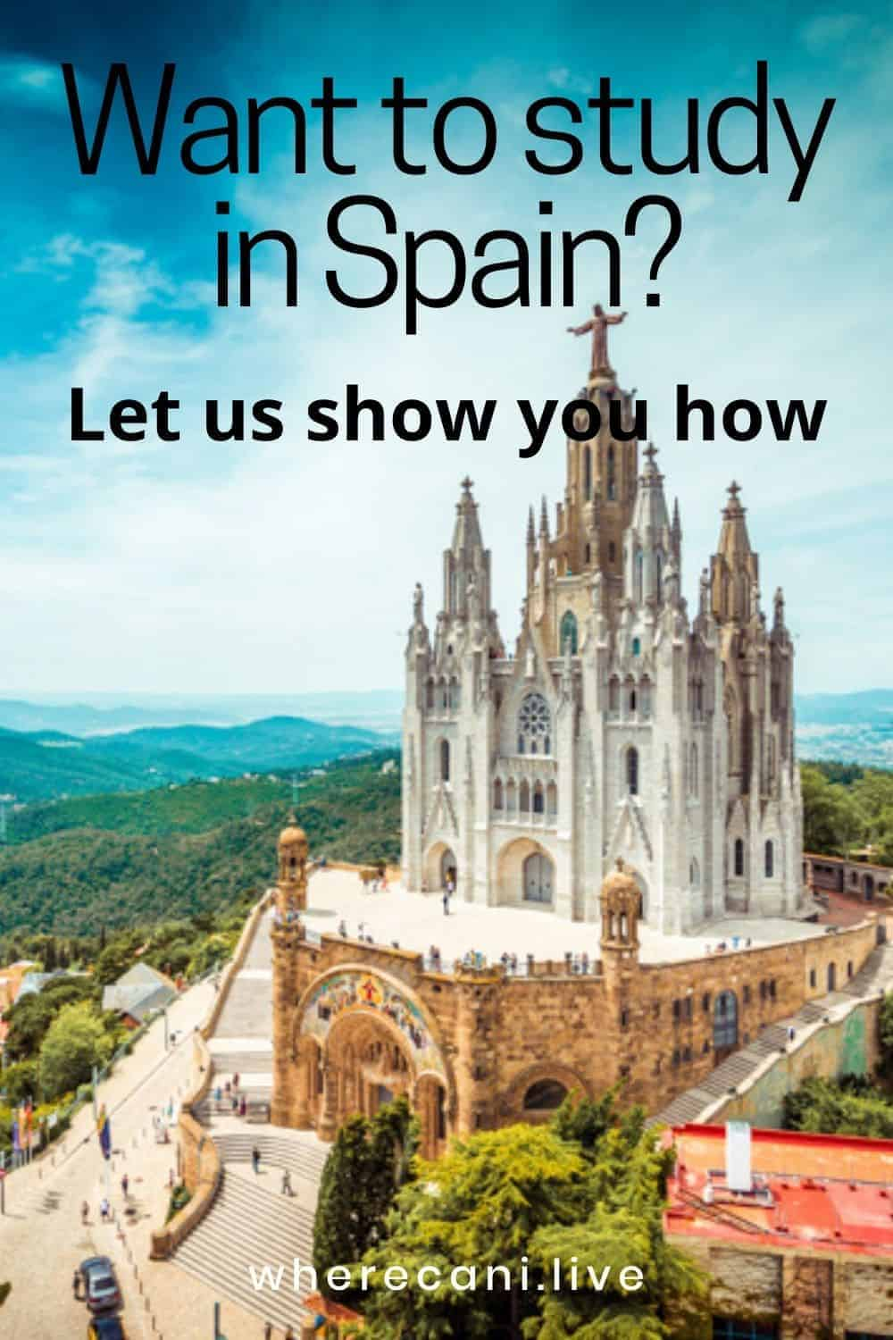 Want to Study in Spain?  Let us show you how to get a visa and more.  #spainvisa #studentvisa #study #spain #expat #moveabroad #liveabroad via @wherecanilive