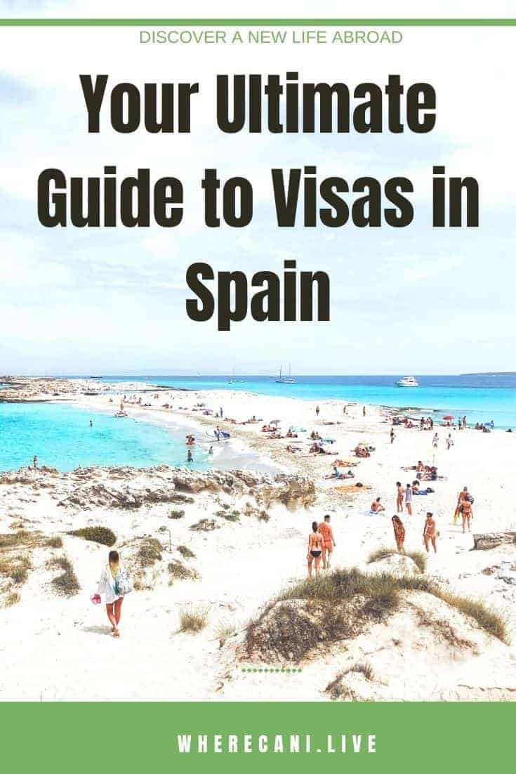 Do you want to live in Spain?  We don't blame you!  Here is the ultimate guide to visas in Spain. #spain #visas #ultimateguide #europe #expat #liveabroad via @wherecanilive