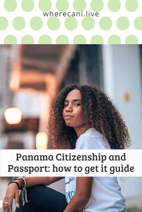 Panama is the choice of home for so many Expats these days.  But how do you get citizenship and a Panama passport?  #panama #citizenship #passport via @wherecanilive