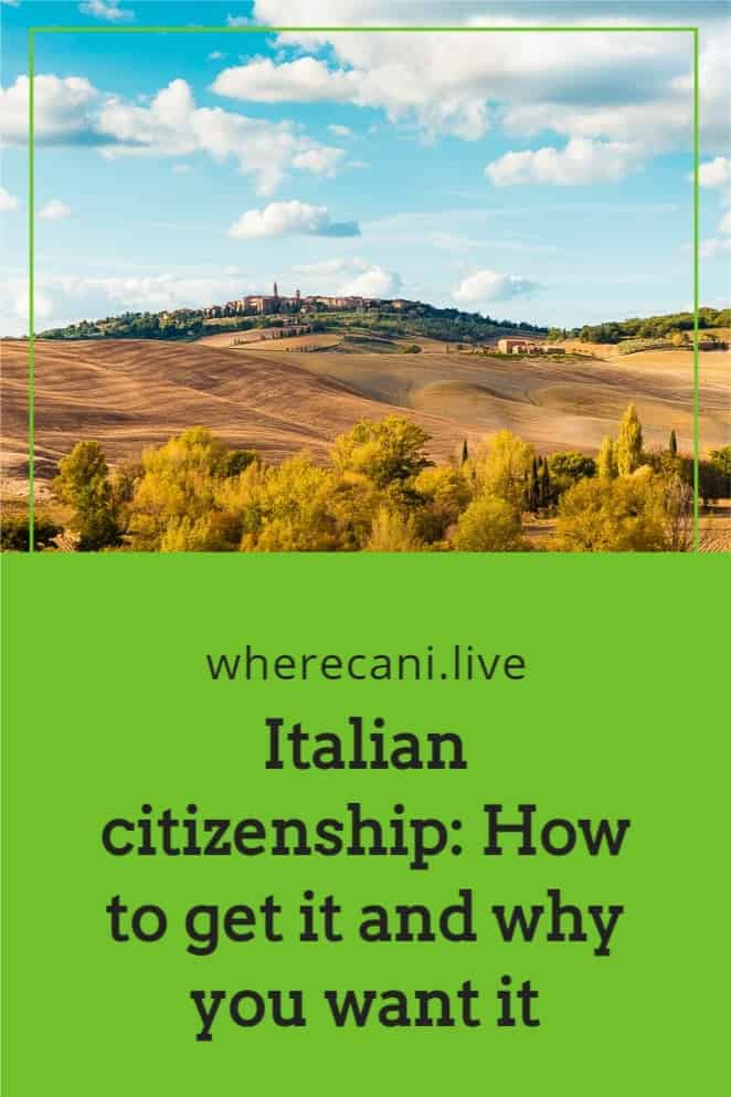 Italian citizenship may be easier than you think.  Read out article on ways to achieve this.  #italy #italian #citizenship via @wherecanilive