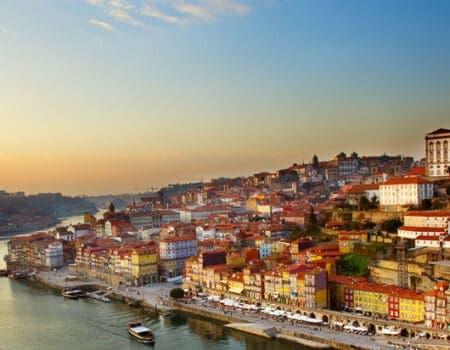 View of Porto in Portugal