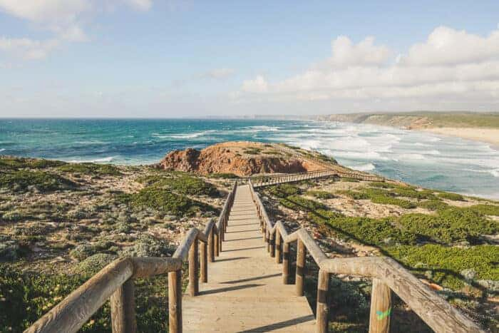 Portugal coastal scene