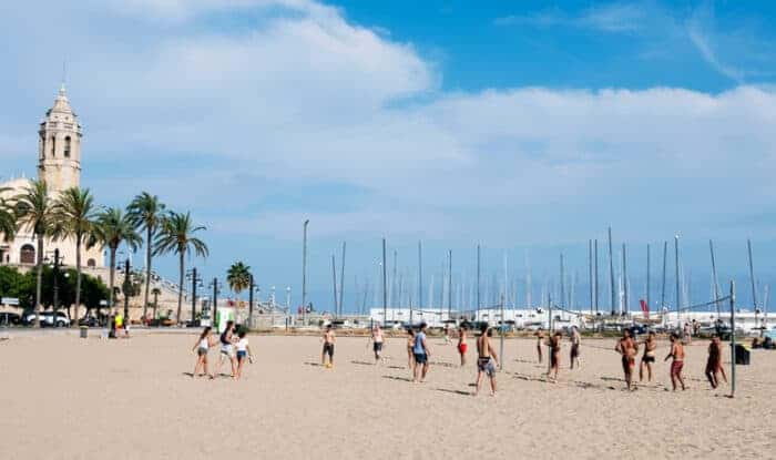 The beaches of Spain where many people have got residency through a Spain Golden Visa