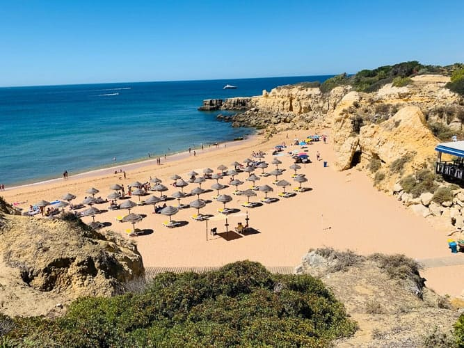 A beach in Portugal