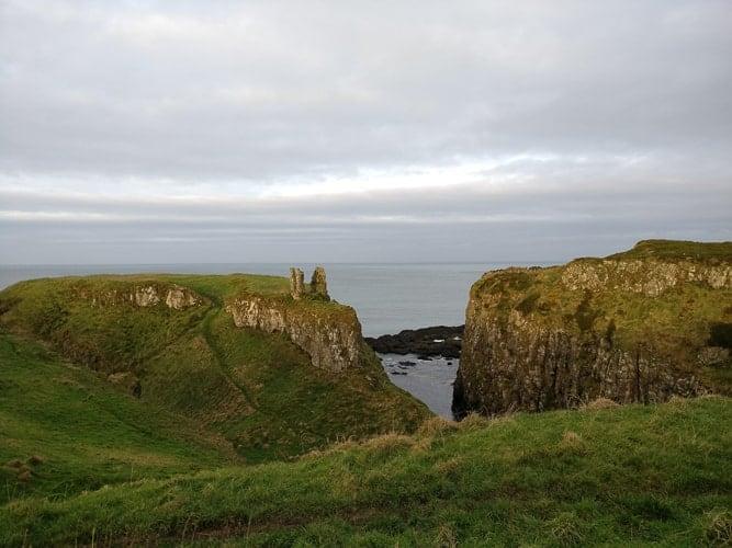 Green Cliffs in Ireland