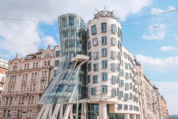 A crazy design of building in Czech republic